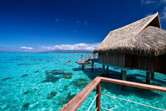 Sofitel Moorea Ia Ora Beach Resort, Tahiti.