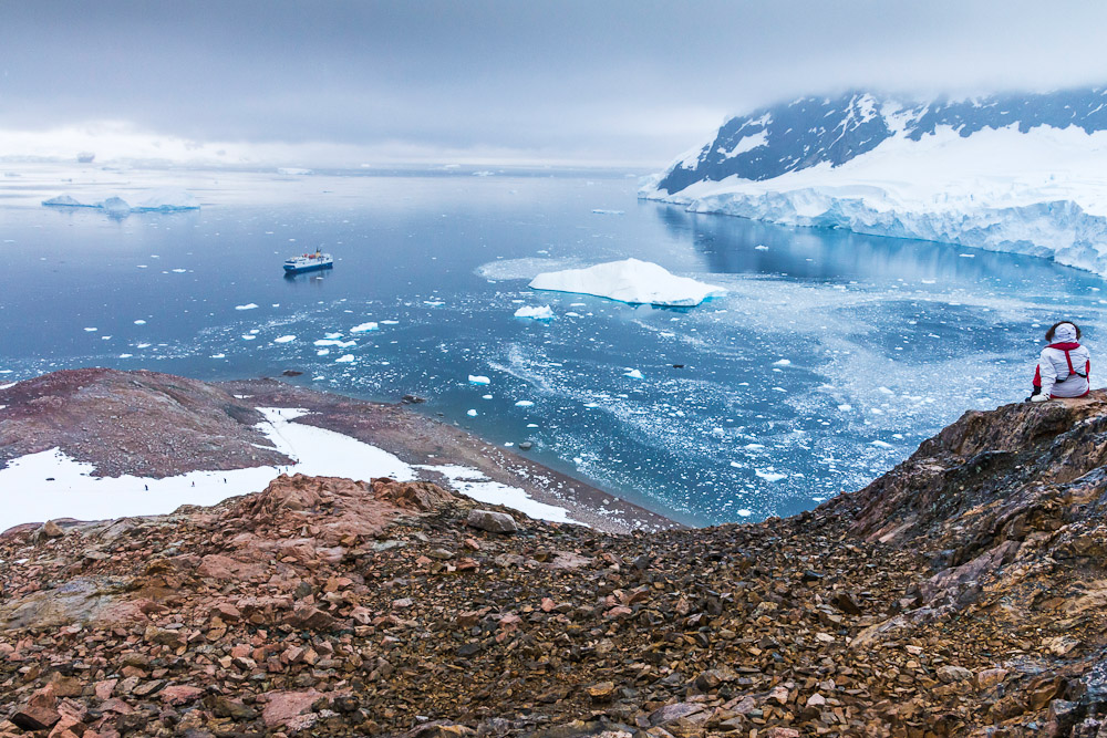 Cruising the Antarctic, ranked #16 in our countdown of '100 Ultimate Travel Experiences of a Lifetime'.