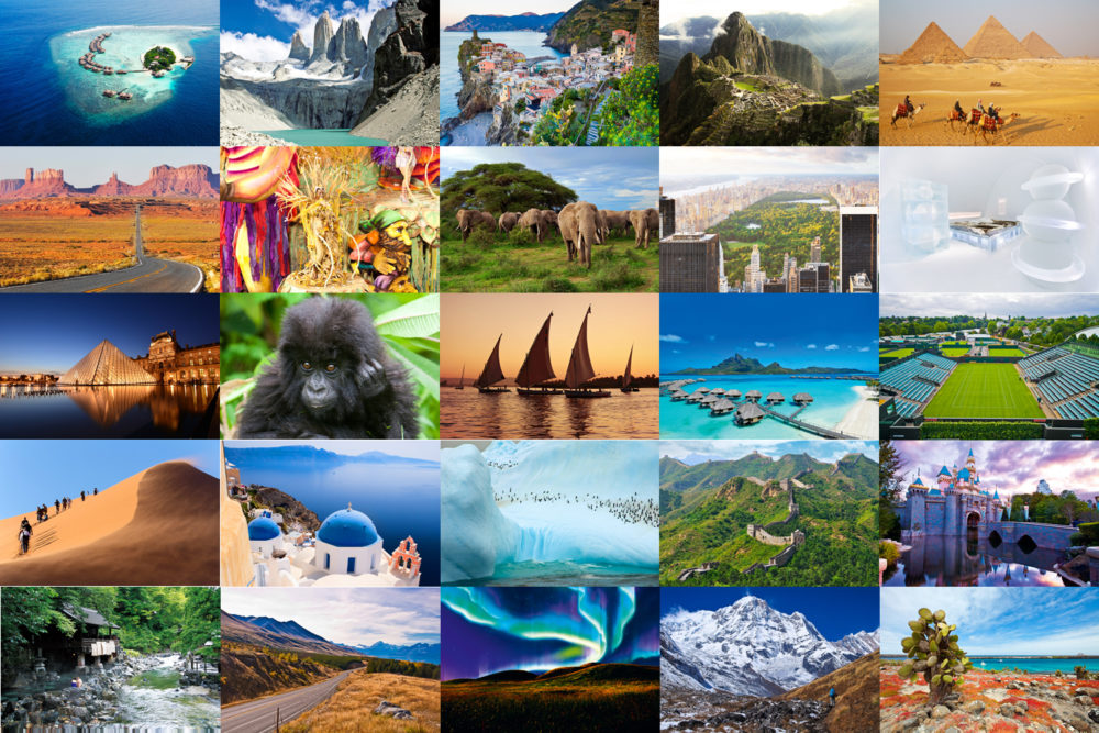 100 Ultimate Travel Experiences of a Lifetime