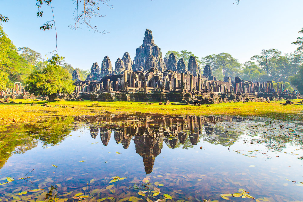 The temples of Angkor in Siem Reap, ranked #17 in our countdown of '100 Ultimate Travel Experiences of a Lifetime'.