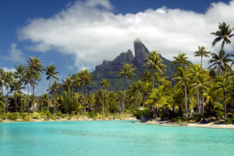 Bora Bora, ranked #82 in our countdown of '100 Ultimate Travel Experiences of a Lifetime'.