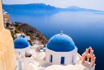 The Greek Islands, ranked #37 in our countdown of '100 Ultimate Travel Experiences of a Lifetime'.
