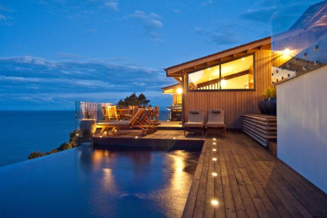 Split Apple Retreat, New Zealand.