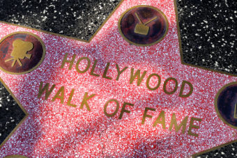 Hollywood Walk of Fame, Los Angeles, USA.
