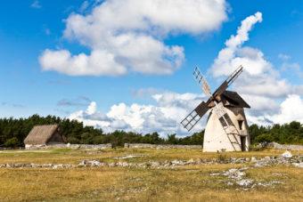 Fårö island, part of Gotland, Sweden.