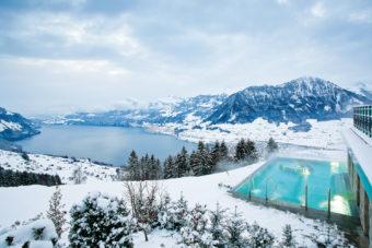 Hotel Villa Honegg in Lake Lucerne, Switzerland.