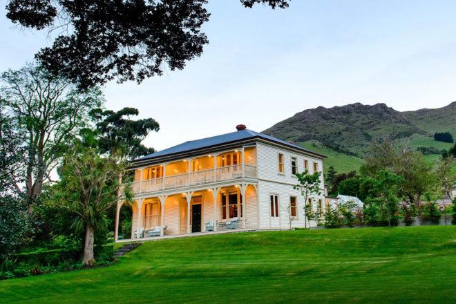Annandale Homestead near Christchurch, New Zealand.