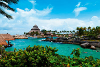 Playa del Carmen on the Riviera Maya, Mexico.