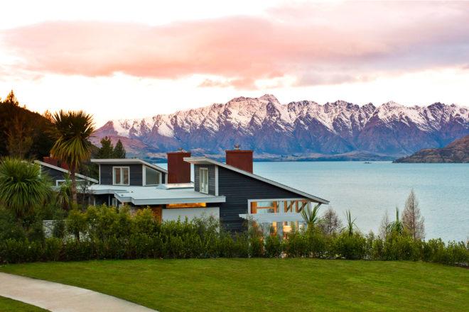 Matakauri Lodge near Queenstown, New Zealand.