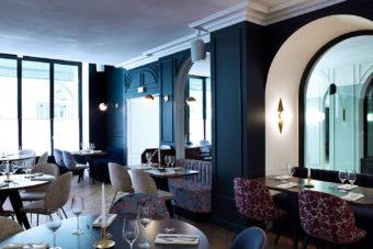 Hotel Bachaumont's restaurant, Paris.