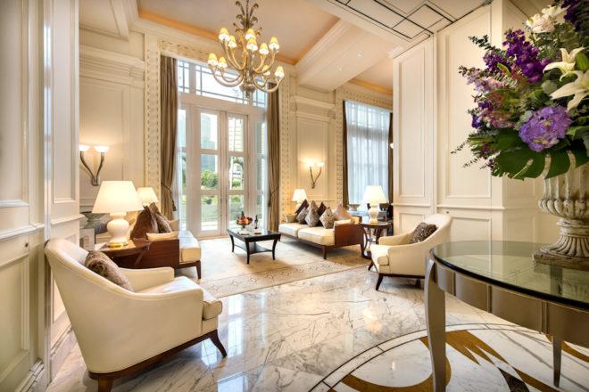 Fullerton Hotel Presidential Suite