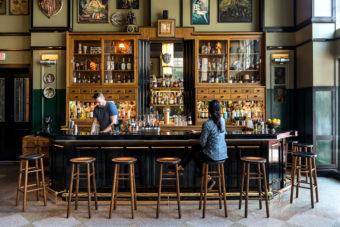Lobby bar Ace Hotel New Orleans