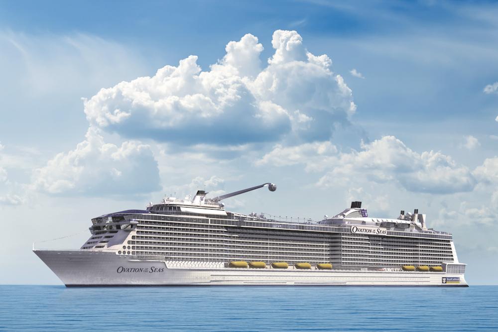 Cruise ship Ovationof the Seas