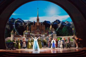 Disneyland attractions shows