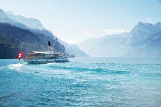 Switzerland lakes