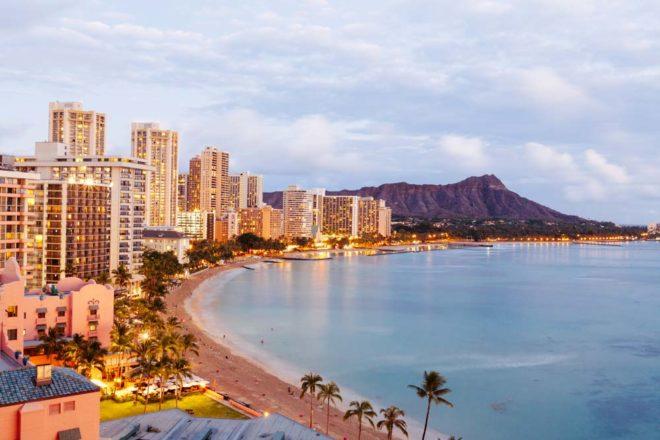 Hawaiian Island O'ahu