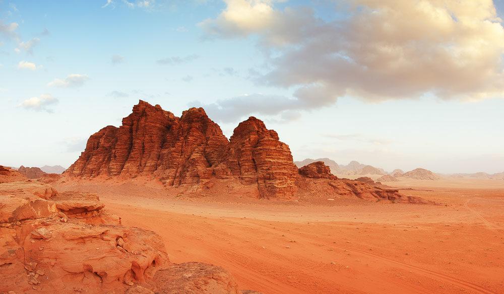 Wadi Rum desert, Jordan UNESCO