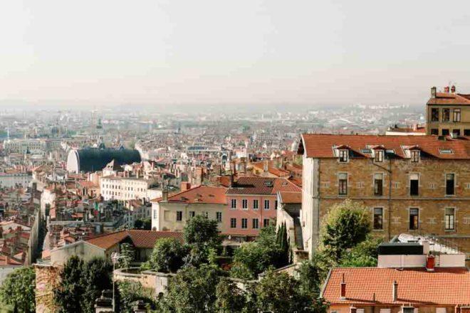 UNESCO listed Lyon, France