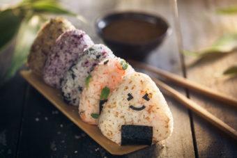 Onigiri Japanese food rice ball