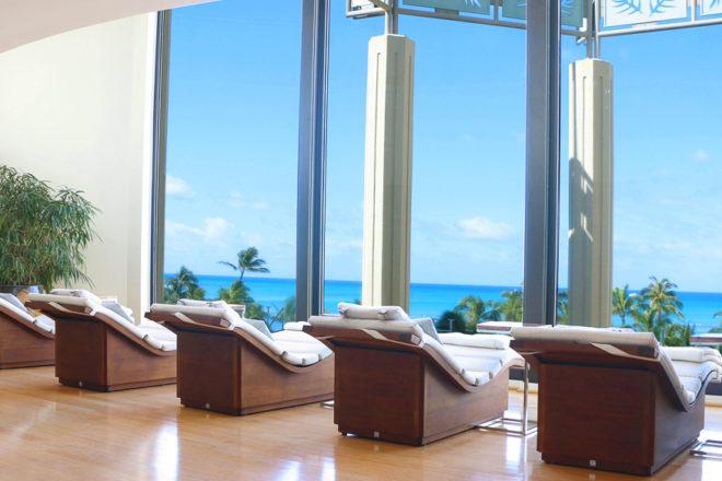 Hyatt Regency Waikiki - Spa view