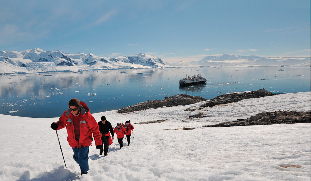 Get off your beautiful Silversea cruise and explore the Antarctic Peninsula