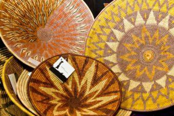 shopping woven baskets Namibia