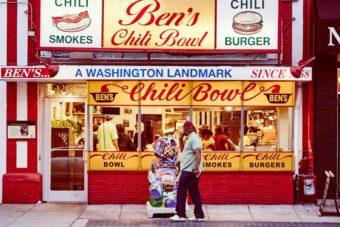 Celebs food Ben's chili bowl Washington