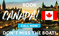 Discover Canada with Le Boat from A$494 pp for 7 nights on Horizon 4