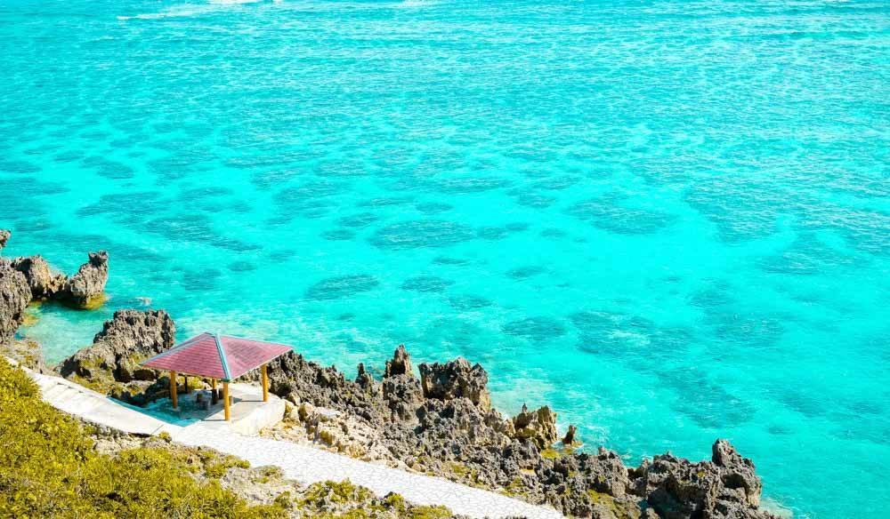 Okinawa Japan travel beach relaxation